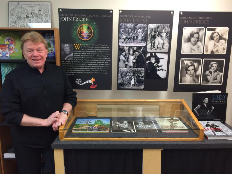 Emmy Award Winner and best selling author John Fricke in the ATO museum